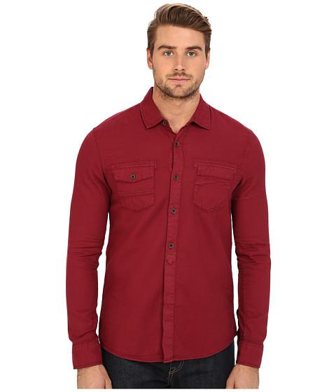 Imbracaminte Barbati Mavi Jeans Denim Shirt Burnt Red