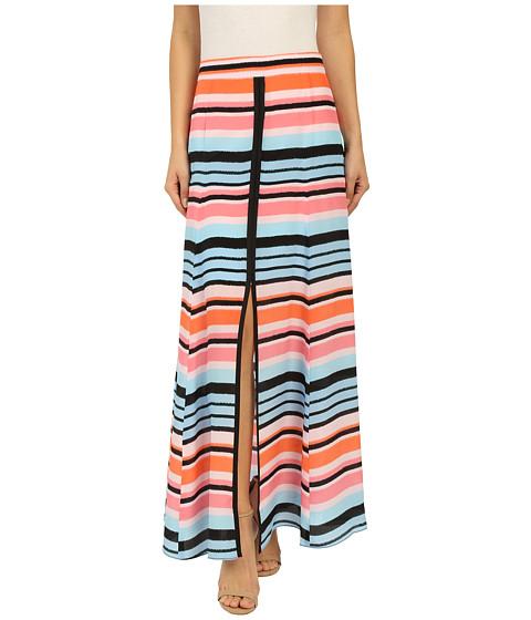Imbracaminte Femei Nanette Lepore Candy Stripe Skirt Coral Multi