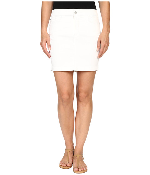 Imbracaminte Femei NYDJ Emily Skirt Spotless White