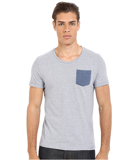 Imbracaminte Barbati Mavi Jeans Printed Pocket Tee Mood Indigo
