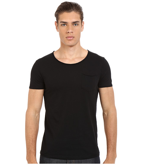 Imbracaminte Barbati Mavi Jeans Basic Crew Neck Tee Black
