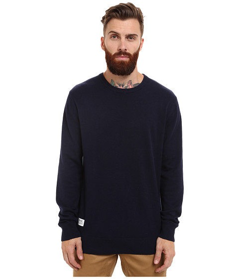 Imbracaminte Barbati WeSC Anwar Knitted Sweater Blue Iris