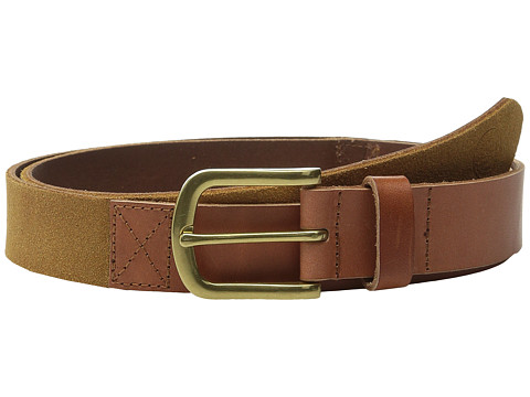 Accesorii Barbati Scotch Soda Two-Tone Mixed Leather amp Suede Belt Brown