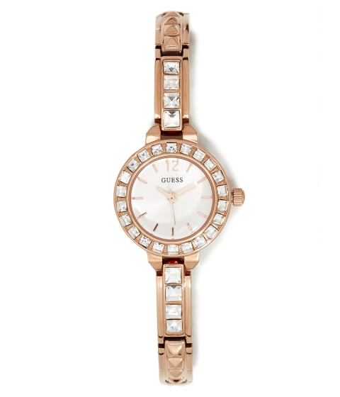 Ceasuri Femei GUESS Rose Gold-Tone Petite Watch no color