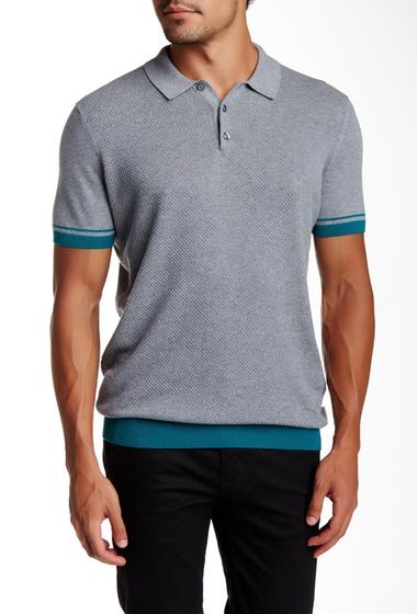 Imbracaminte Barbati Ben Sherman Textured Polo Shirt 73PSILVER