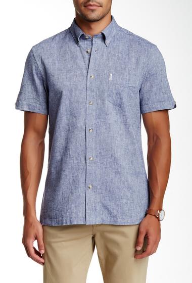 Imbracaminte Barbati Ben Sherman Short Sleeve Regular Fit Shirt B51B51NVYB