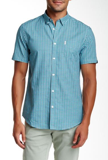 Imbracaminte Barbati Ben Sherman Short Sleeve Regular Fit Plaid Shirt H56JADE GR