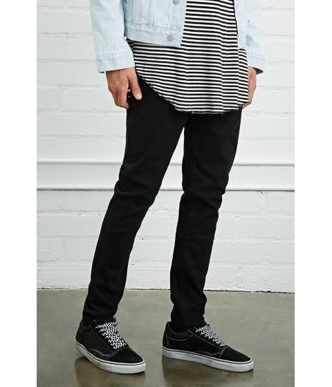 Imbracaminte Barbati Forever21 Slim-Fit Jeans Black