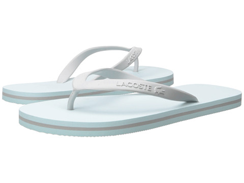 Incaltaminte Femei Lacoste Ancelle Slide Light BlueLight Grey