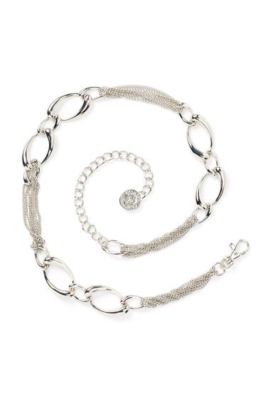 Accesorii Femei AK Anne Klein Chain Lion Head Logo Drop Belt NKL