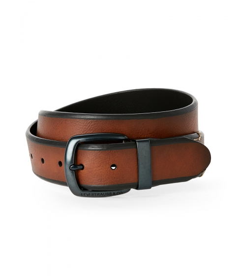 Accesorii Barbati Levi's Tan Black Reversible Belt Tan Black
