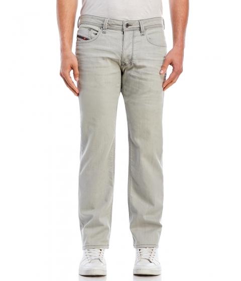 Imbracaminte Barbati Diesel Grey Larkee Regular-Straight Jeans Denim