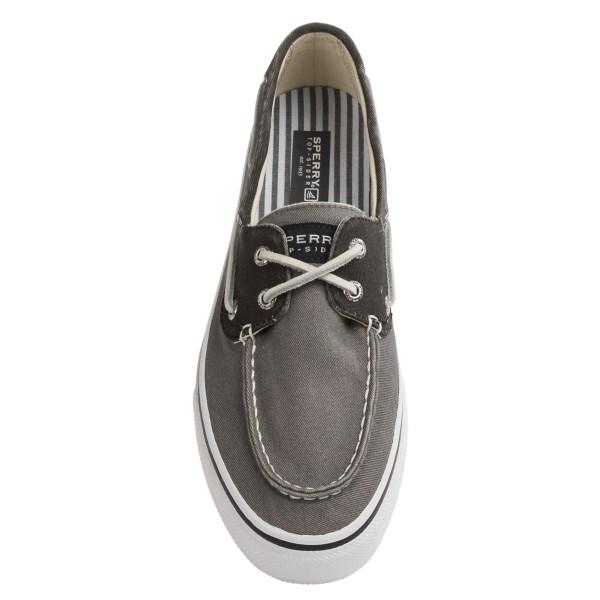 Incaltaminte Barbati Sperry Top-Sider Bahama 2-Eye Sneakers GREYBLACK (01)