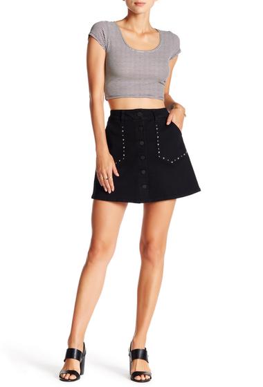 Imbracaminte Femei Jolt Stud Mini Skirt BLACK 5