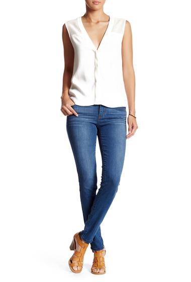 Imbracaminte Femei Jolt Ankle Zipper Skinny Jean BLUE 5