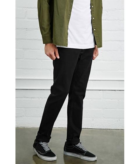 Imbracaminte Barbati Forever21 Straight-Leg Jeans Black