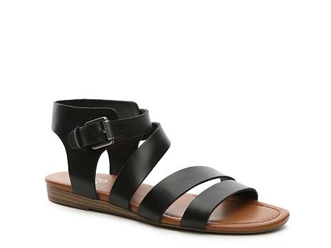 Incaltaminte Femei Franco Sarto Genji Flat Sandal Black
