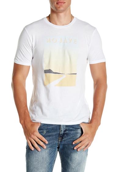 Imbracaminte Barbati Lucky Brand Mojave Short Sleeve Tee BRIGHT WHI