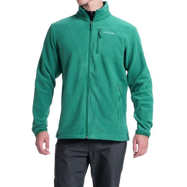 Imbracaminte Barbati Columbia Cascades Explorer Fleece Jacket PINE GREEN (02)