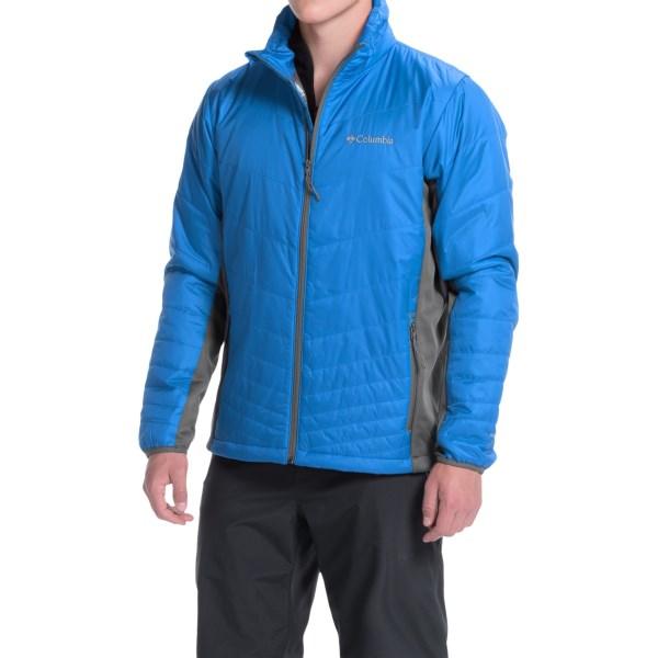 Imbracaminte Barbati Columbia Mighty Light Omni-Heat Hybrid Jacket - Insulated HYPER BLUEGRAPHITE (02)