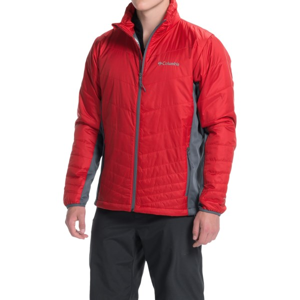 Imbracaminte Barbati Columbia Mighty Light Omni-Heat Hybrid Jacket - Insulated ROCKETGRAPHITE (04)
