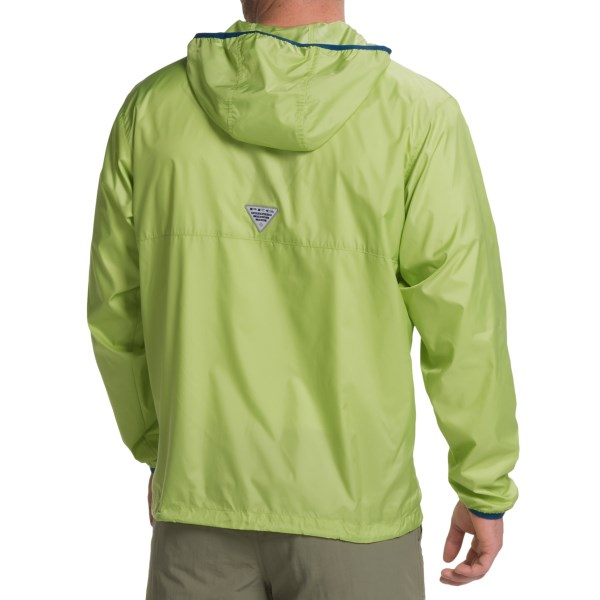Imbracaminte Barbati Columbia Terminal Spray Omni-Shade Jacket - UPF 40 NAPA GREENCOOL GREY (01)