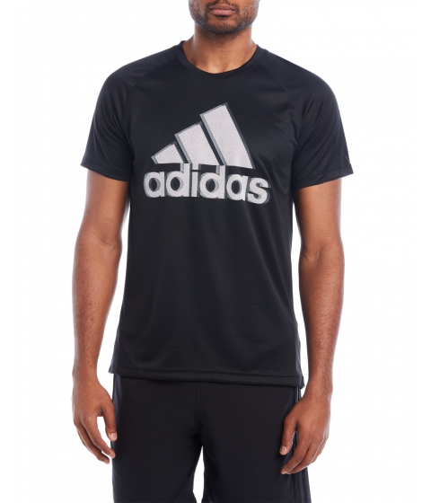 Imbracaminte Barbati adidas Black Base Logo Tee Black