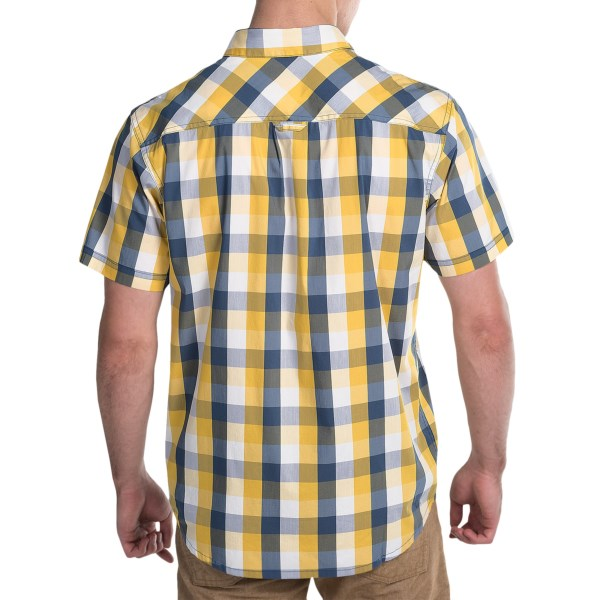 Imbracaminte Barbati Columbia Decoy Rock II Omni-Wick Shirt - Short Sleeve CIRRUS GREY PLAID (01)