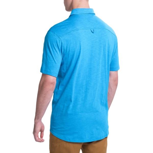 Imbracaminte Barbati Columbia Berwick Point Shirt - Button Front Short Sleeve SHARK (01)