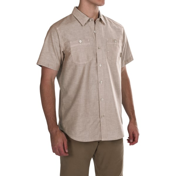 Imbracaminte Barbati Columbia Stirling Trail Shirt - Short Sleeve DELTA (02)