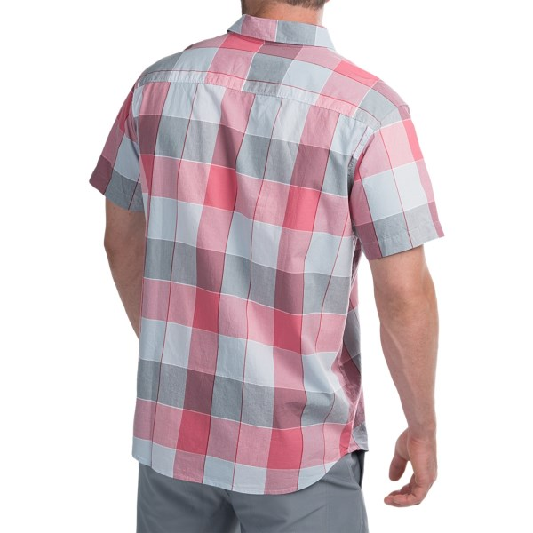 Imbracaminte Barbati Columbia Thompson Hill II Yarn-Dye Shirt - Short Sleeve GEMSTONE LARGE PLAID (01)