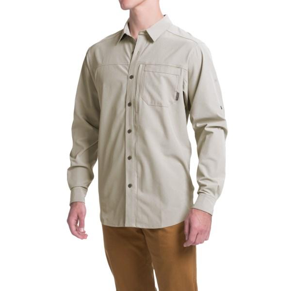 Imbracaminte Barbati Columbia Global Adventure 4 Omni-Wick Shirt - UPF 50 Long Sleeve KETTLE (01)