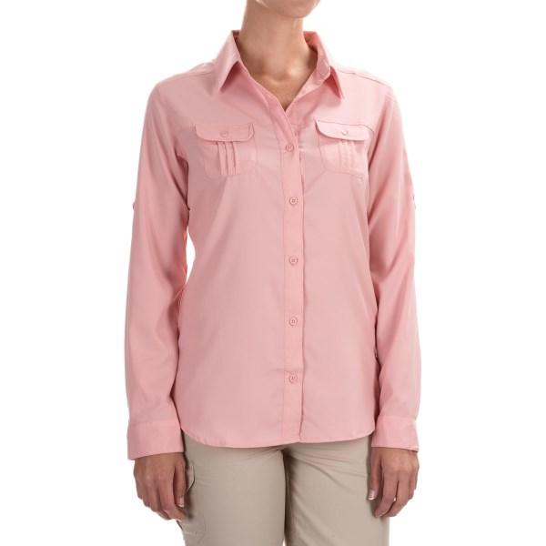 Imbracaminte Femei Columbia Sun Goddess III Omni-Wick Shirt - UPF 40 Long Sleeve ROSEWATER (03)