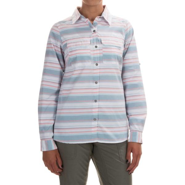 Imbracaminte Femei Columbia Pilsner Peak Stripe Shirt - Omni-Wick UPF 50 Long Sleeve CLOUDBURST STRIPE (04)