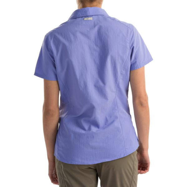 Imbracaminte Femei Columbia Amberley Stream Shirt - UPF 30 Short Sleeve PALE PURPLE (01)