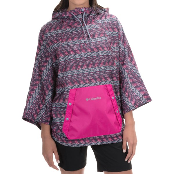 Imbracaminte Femei Columbia Flash Forward Anorak Jacket HAUTE PINK MATRIX PRINT (02)
