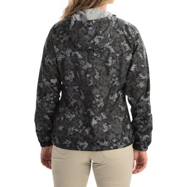 Imbracaminte Femei Columbia Flash Forward Printed Omni-Shield Windbreaker Jacket BLACK PRINT (01)