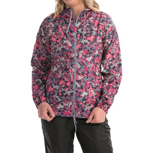 Imbracaminte Femei Columbia Flash Forward Printed Omni-Shield Windbreaker Jacket HAUTE PINK PRINT (03)