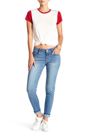 Imbracaminte Femei Jolt Light Wash Rolled Skinny Jean LIGHTBLUE5