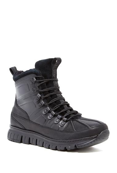 Incaltaminte Barbati Cole Haan ZeroGrand Waterproof Sport Boot BLACK