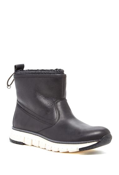 Incaltaminte Barbati Cole Haan Zerogrand Waterproof Pull On Boot BLACK LEAT