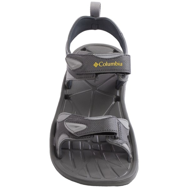 Incaltaminte Barbati Columbia Techsun Vent Sport Sandals CHARCOALYELLOW CURRY (01)