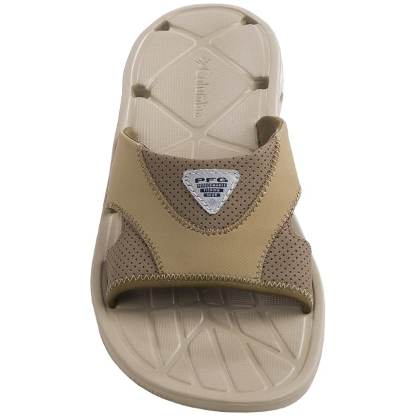 Incaltaminte Barbati Columbia Techsun Vent Slide PFG Sandals BRITISH TANKHAKI MHW (01)