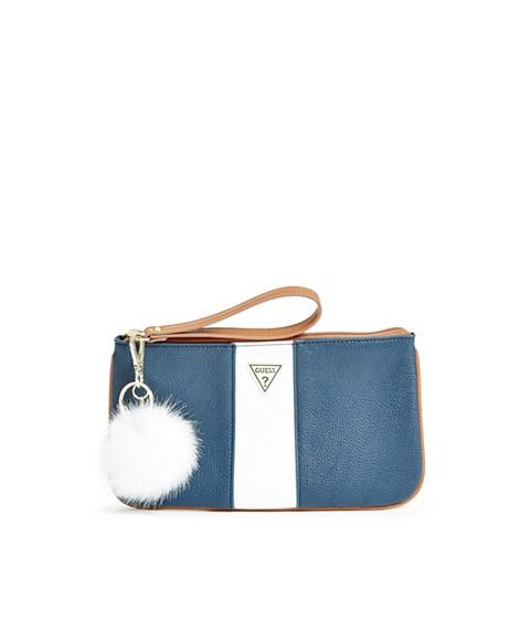Accesorii Femei GUESS Chantilly Pom Wristlet blue multi
