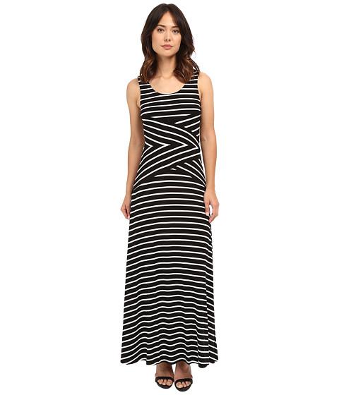Incaltaminte Femei Calvin Klein Maxi Stripe Dress Black Combo 2