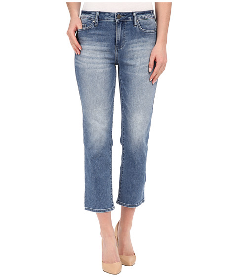 Imbracaminte Femei Calvin Klein Cropped Straight Jeans in Authentic Blue Authentic Blue