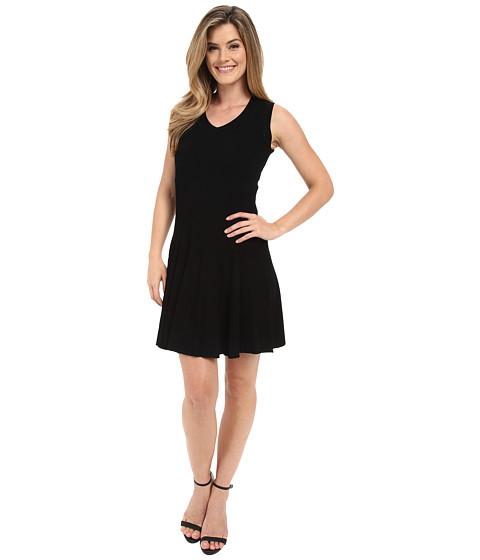 Imbracaminte Femei Calvin Klein Sweater Dress with Flare Black