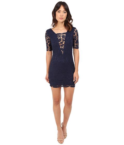 Imbracaminte Femei Brigitte Bailey Jennifer Crochet Lace Detail Mini Dress Navy
