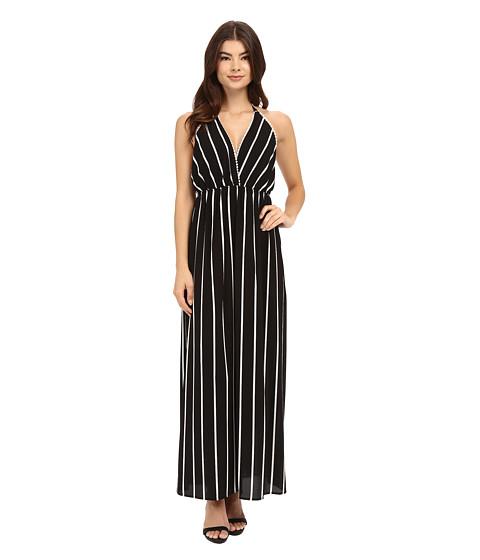 Imbracaminte Femei Brigitte Bailey Petra Striped Halter Dress Black