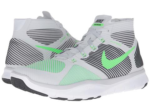 Incaltaminte Barbati Nike Free Train Instinct Pure PlatinumBlackWhiteRage Green